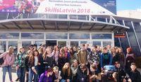 """""""Devītie"""" iepazina profesijas Skills Latvia 2018"""